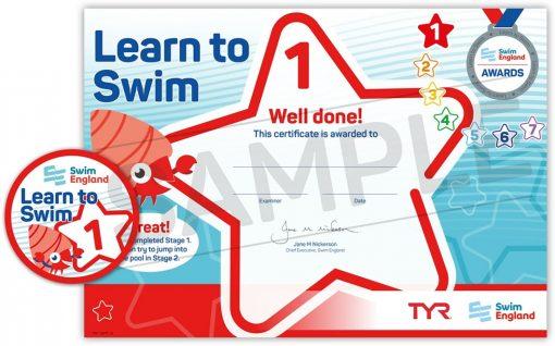 Swim England Learn to Swim Stages