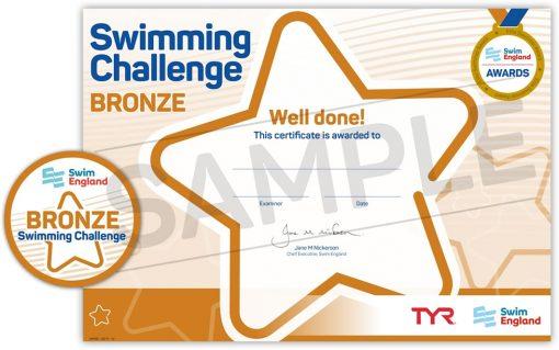 Swimming Bronze Award