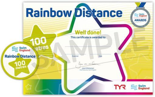 Swim England Rainbow Distance Awards