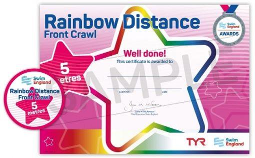 Swim England Rainbow Stroke Awards